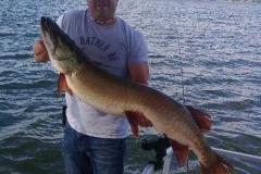 Al Dawes Jr.,  Geneva, OH, 50-incher (personal best), Pymatuning Lake, OH.