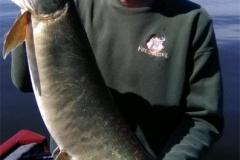 Bob Schrock, South Bend, IN, 40-incher, Lake Webster, IN.