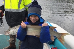 Cade Croftcheck, Wadsworth, OH, 35-incher (first musky), Leesville Lake, OH.