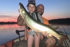 Clara Davis, age 6, Normal, IL, 37-incher, Evergreen Lake, IL.