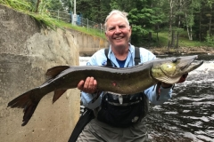 Joe Ashcraft, Fort Worth, TX, 40 1/4-incher (personal best), Elk River, WI.