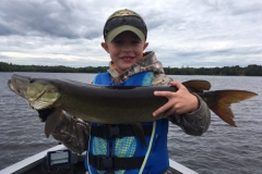Jack Martin, Junction City, WI, 35-incher, Oxbow Lake, WI.