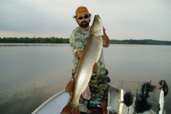 John Wedden, Trenton, ON, 49-incher, Trent River, ON.