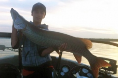 Keegan Fortune, Barrie, ON, 45-incher, Honey Harbour, ON.