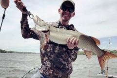 Matthew Grey, Wadsworth, OH, 38-incher, West Branch Reservoir, OH.