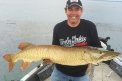 Pierre-Andre Paulet, Sorel-Tracy, QC, 45-incher, St. Lawrence River, QC.