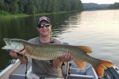 Rico Margani, Berwick, PA, 41incher, Susquehanna River, PA