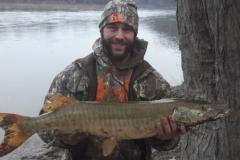 Ryan Nalaschi, Edwardsville, PA, 36-incher, Nescopeck, PA.