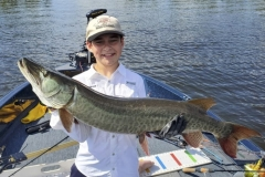 Tanner Trustem, age 11, Neenah, WI, 44-incher on LOTW.